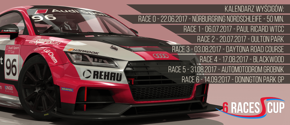 ACLeague Audi TT Cup 2017: 6 Races 1 Cup