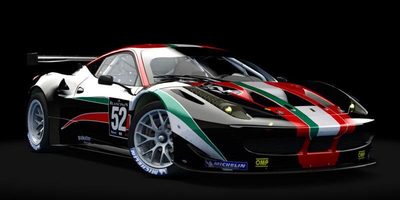 2011 Ferrari 458 Italia GT2