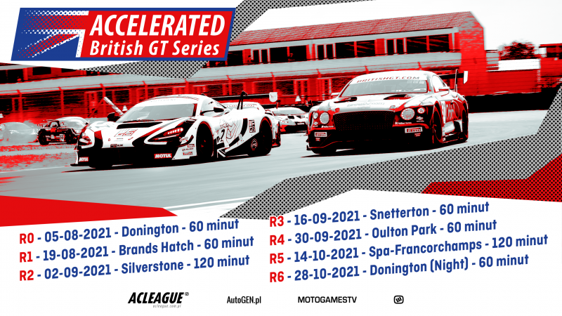Startuje sezon ACCelerated British GT Series - Image