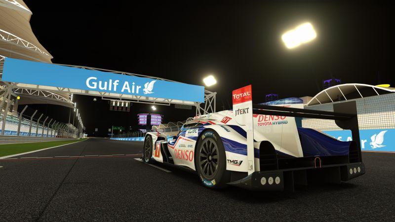 FunRace Multiklasa by Shalkyer @ Bahrain GP at Night - Image