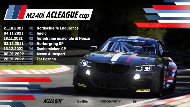 Zapowiedź sezonu M240i ACLeague CUP - Image