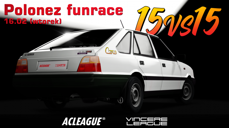 Polonez FunRace - ACLeague VS Vincere League - Image