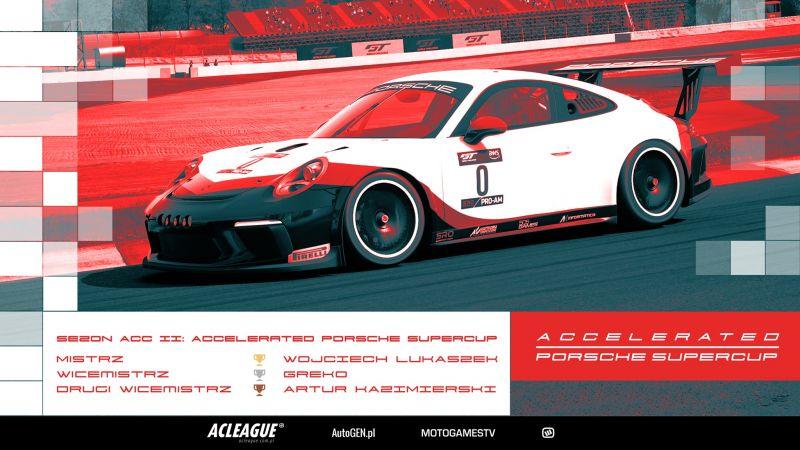 Podsumowanie sezonu ACCelerated Porsche SuperCup - Image