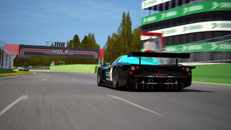 Funrace Maserati MC12 GT1 @ Imola - Image