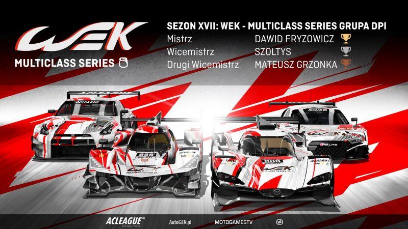 Podsumowanie sezonu WEK - Multiclass Series - Image